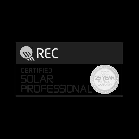 REC Certified Solar Professional